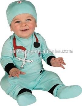 Fantasia de Carnaval para bebê de médico5