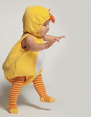 Fantasia de Carnaval para bebê de patinho23