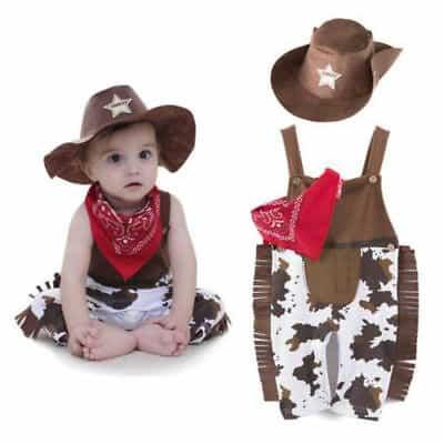 Fantasia de Carnaval para bebê de vaqueiro3