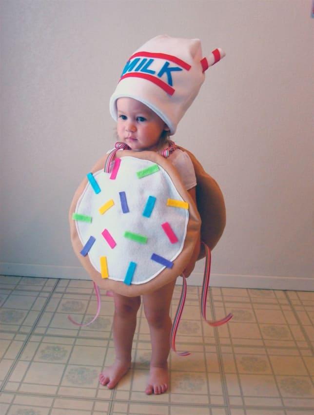 Fantasia de Carnaval para bebê menina de biscoito39