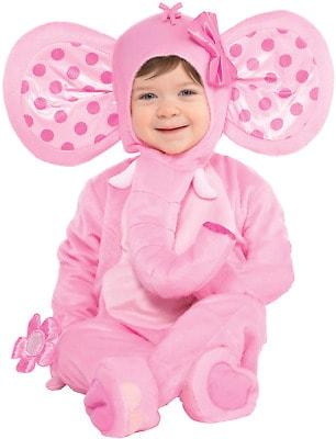Fantasia de Carnaval para bebê menina de elefantinha44