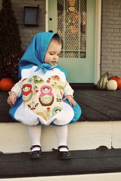 Fantasia de Carnaval para bebê menina27