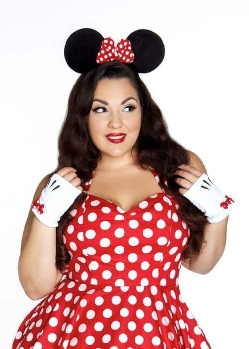 Fantasia de Carnaval plus size de Minnie32