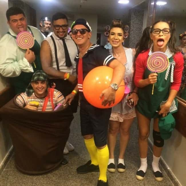 Fantasias de Carnaval em grupo com tema Turma do Chaves62