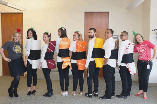 Fantasias de Carnaval em grupo com tema comida58