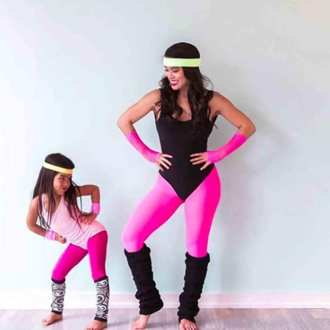 Fantasias de Carnaval para mãe e filha de dançarinas53