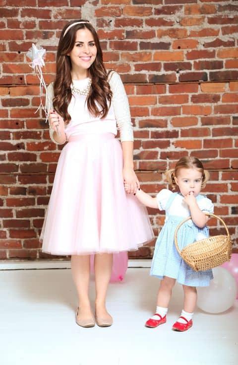 Fantasias de Carnaval para mãe e filha55
