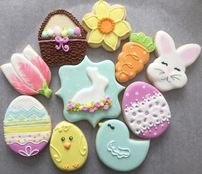Lindos biscoitinhos de Páscoa