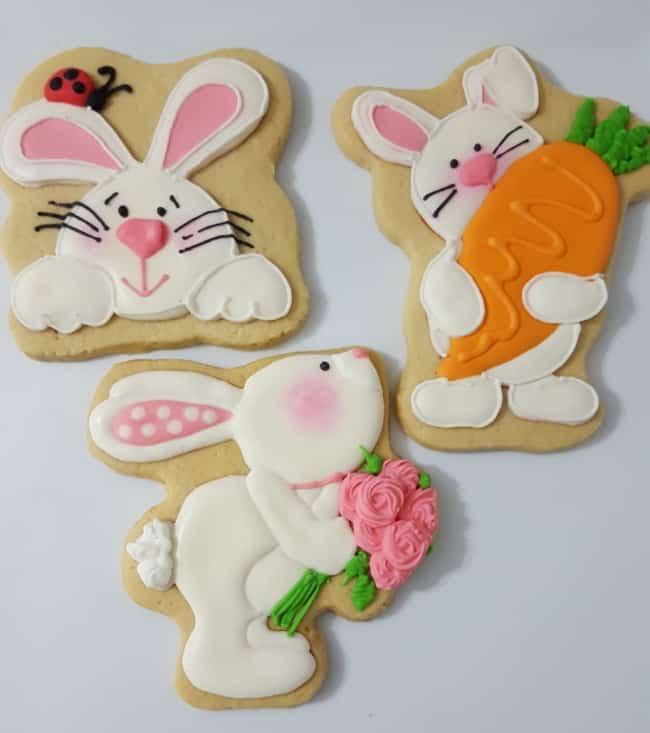 biscoito decorado para páscoa
