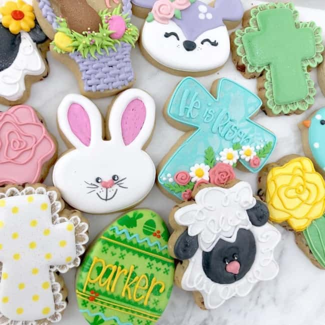biscoitos de animais de Páscoa