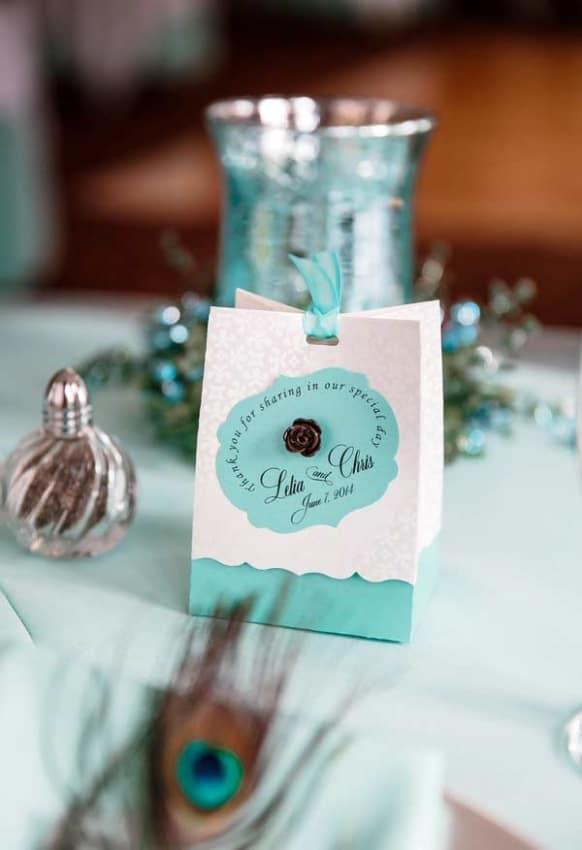 ideia de Casamento Azul Tiffany
