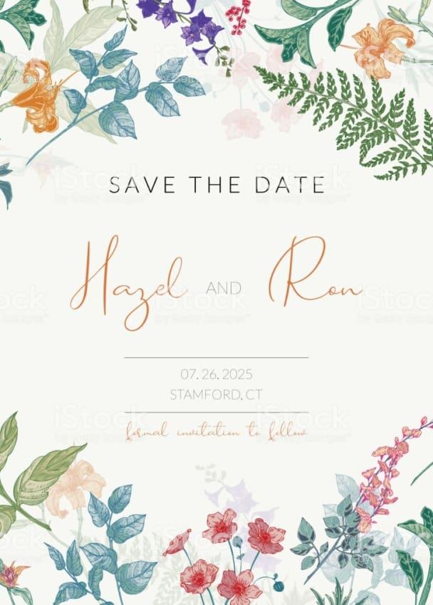 lindo Convite de casamento online