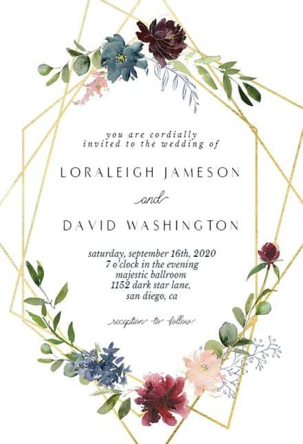 lindo convite online para casamento
