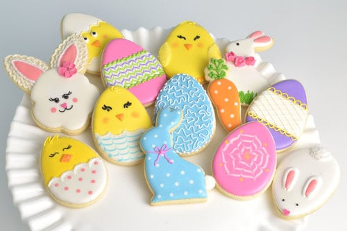 lindos biscoitos de Páscoa