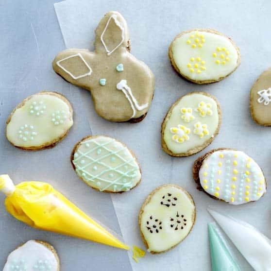 pequenos biscoitos de Páscoa