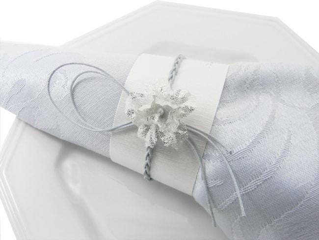 porta guardanapo de papel branco
