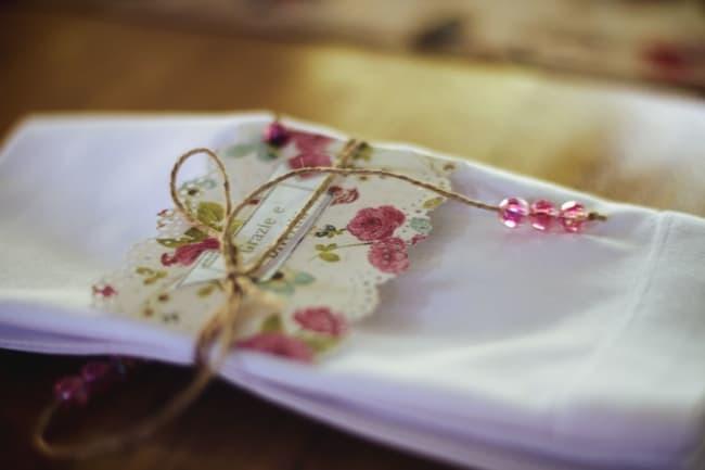 porta guardanapo de papel decorado