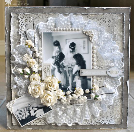 Álbum de casamento artesanal 32