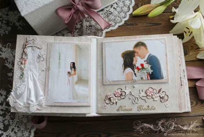 Álbum de casamento artesanal8