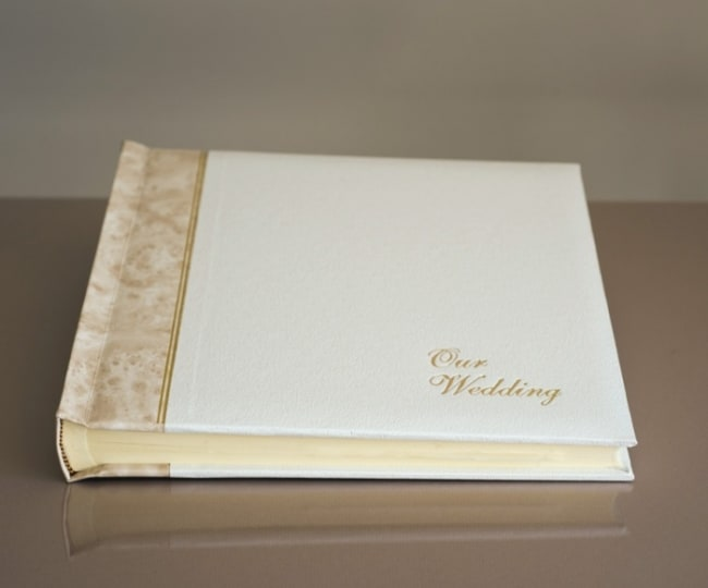 Álbum de casamento branco16
