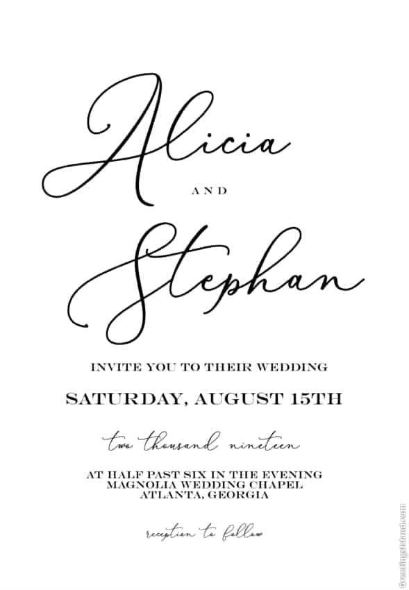 convite digital para casamento
