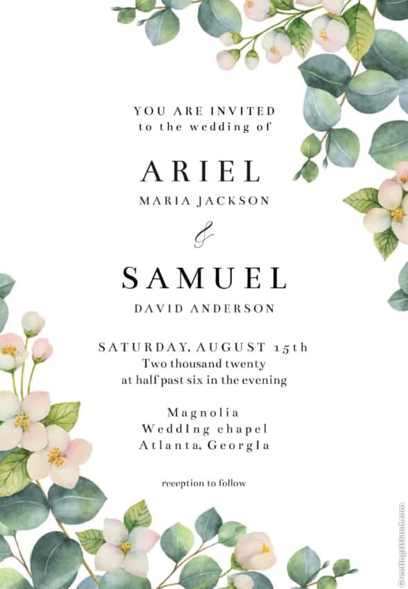 onde fazer convite de casamento digital