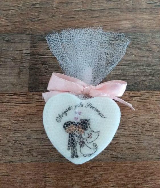 sabonete decorado para casamento