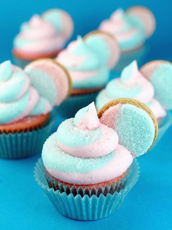 cupcake para chá de revelação