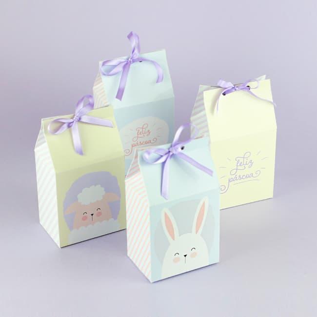 Caixa milk para presentear na Páscoa