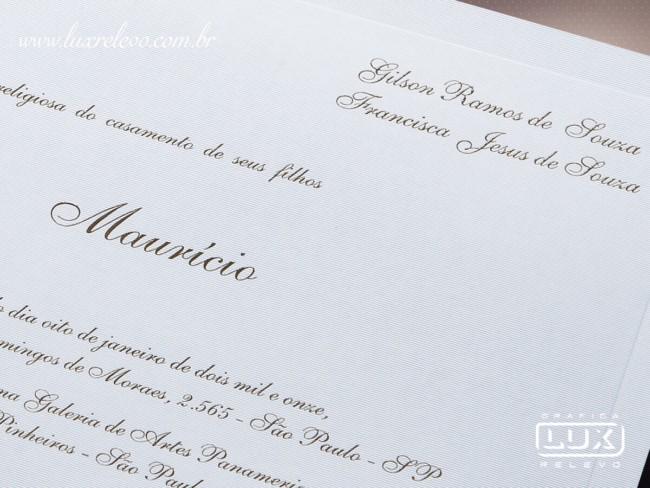 Convite de casamento em papel markatto finezza5