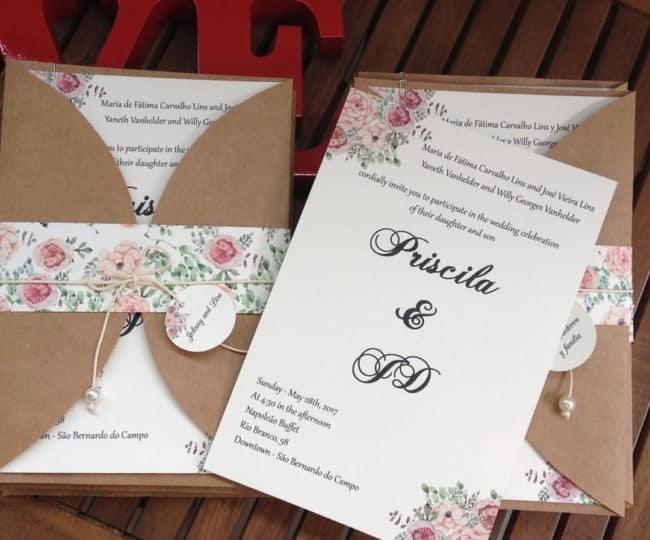 Convite de casamento24