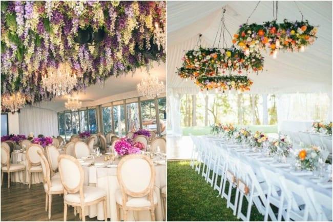Decoração com flores para casamentos d edia