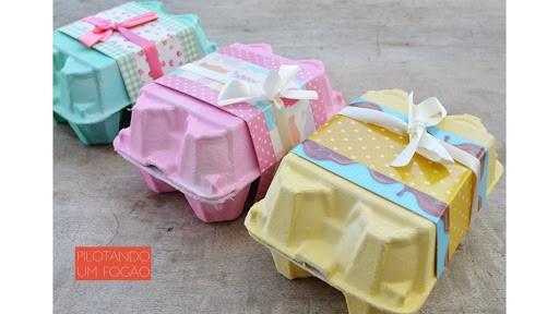Dica criativa de caixinha para ovos de Páscoa