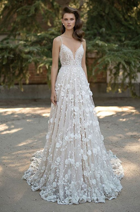 Dica de vestido para noivas com estilo boho chic
