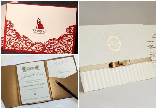 Ideis para convites de casamento1