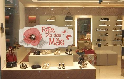 Lojas decoradas para dia das mães