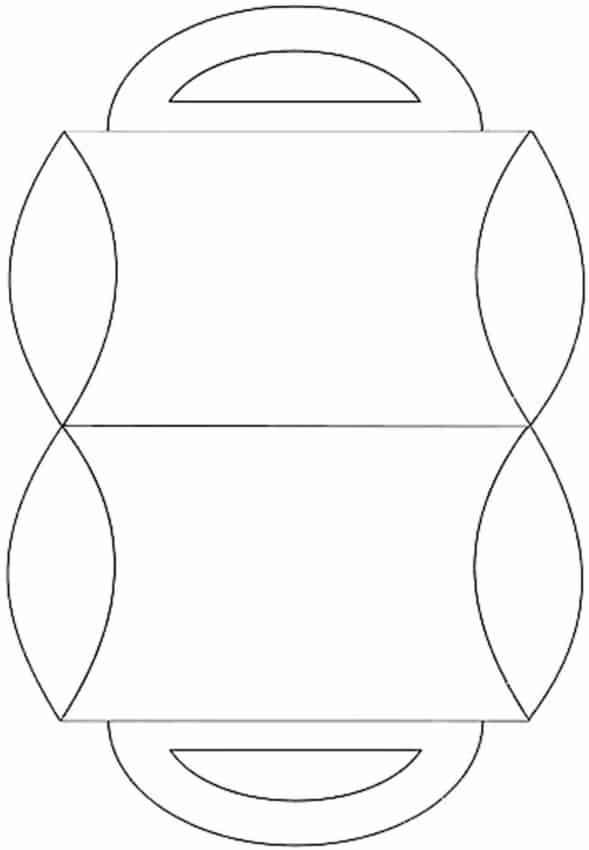 Molde básico de caixa