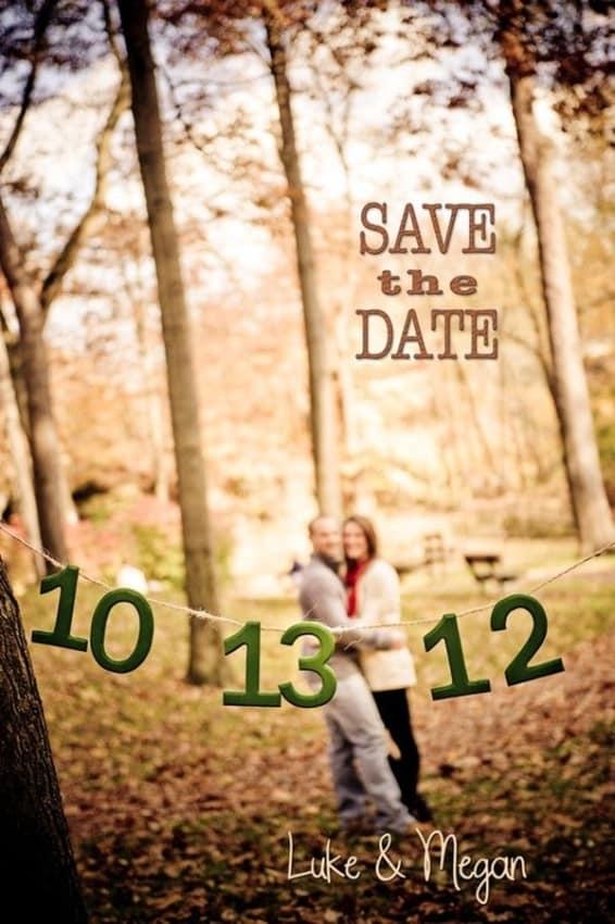 Save the date criativo com foto