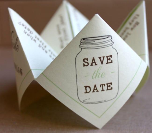 Save the date criativo
