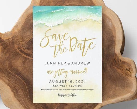 Save the date praia