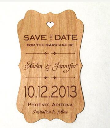 Save the date rústico como fazer