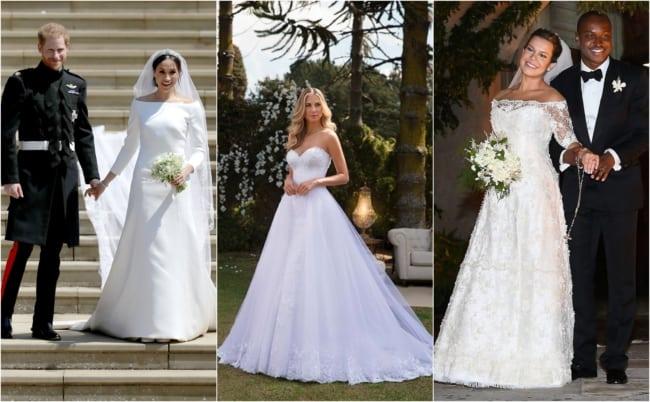 Vestido de noiva evasê 1