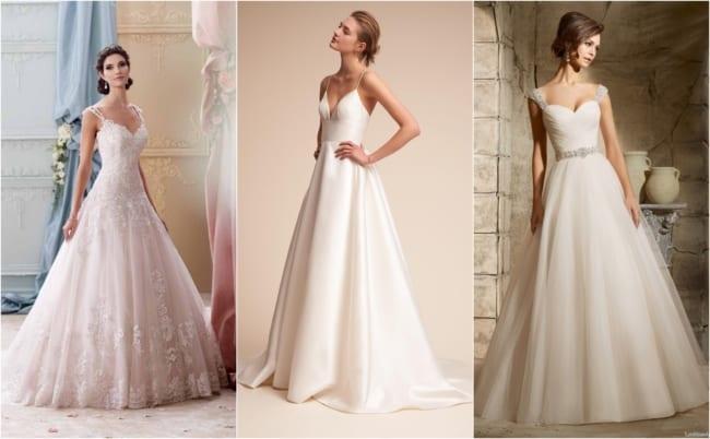 Vestido de noiva evasê 4
