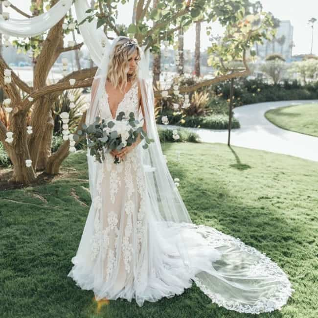 Vestido de noiva para casar de dia