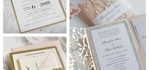 como fazer convite de casamento