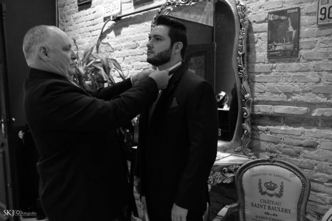 como fazer making of do noivo na barbearia