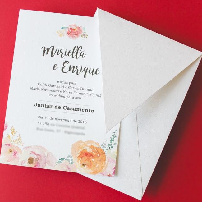 ideia de Convite de casamento civil