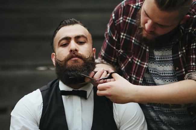ideias de making of do noivo na barbearia