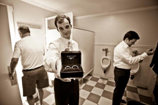 making of do noivo em hotel