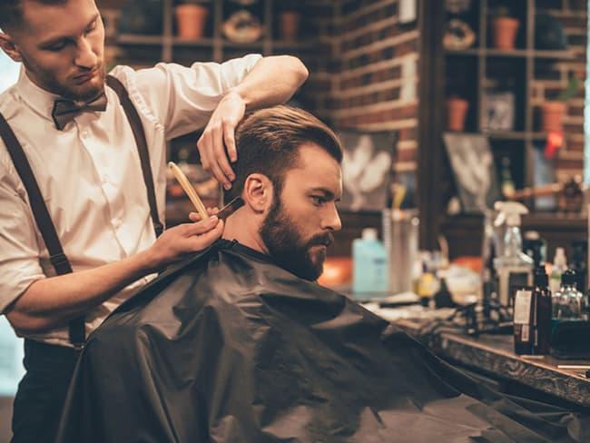 making of do noivo na barbearia